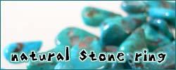 夏のオススメ第2弾!天然石をセットした新作シルバーリング