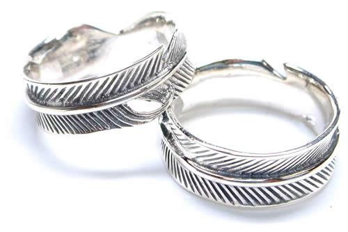 フルフェザーシルバーリングの指輪サイズ追加!!
