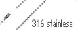 激安997円~ステンレス製のネックレスチェーン新作登場!